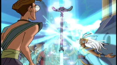 Don't make Kida use the Spear of Destiny on you!